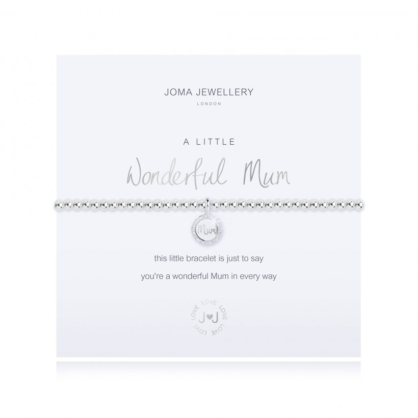 Joma Jewellery 'A Little Wonderful Mum' Bracelet