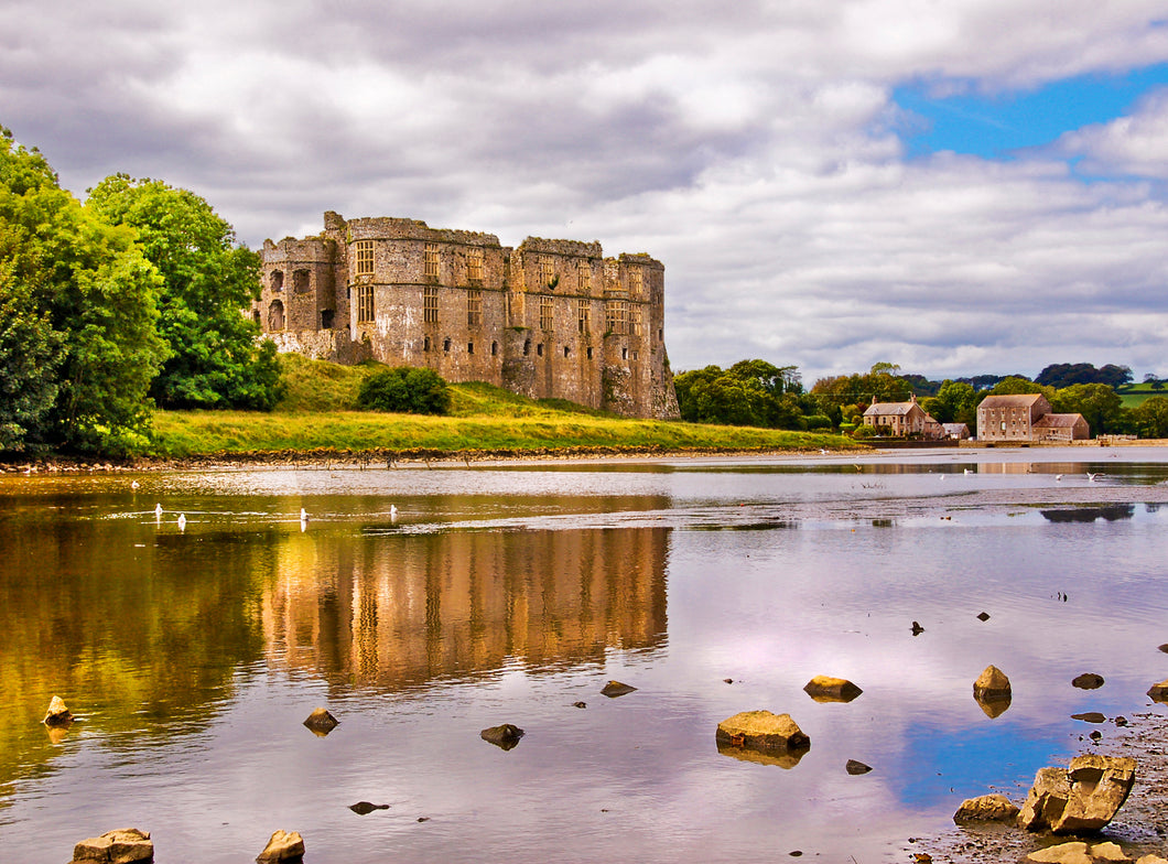 'Carew Castle and Tidal Mill, Pembrokeshire'