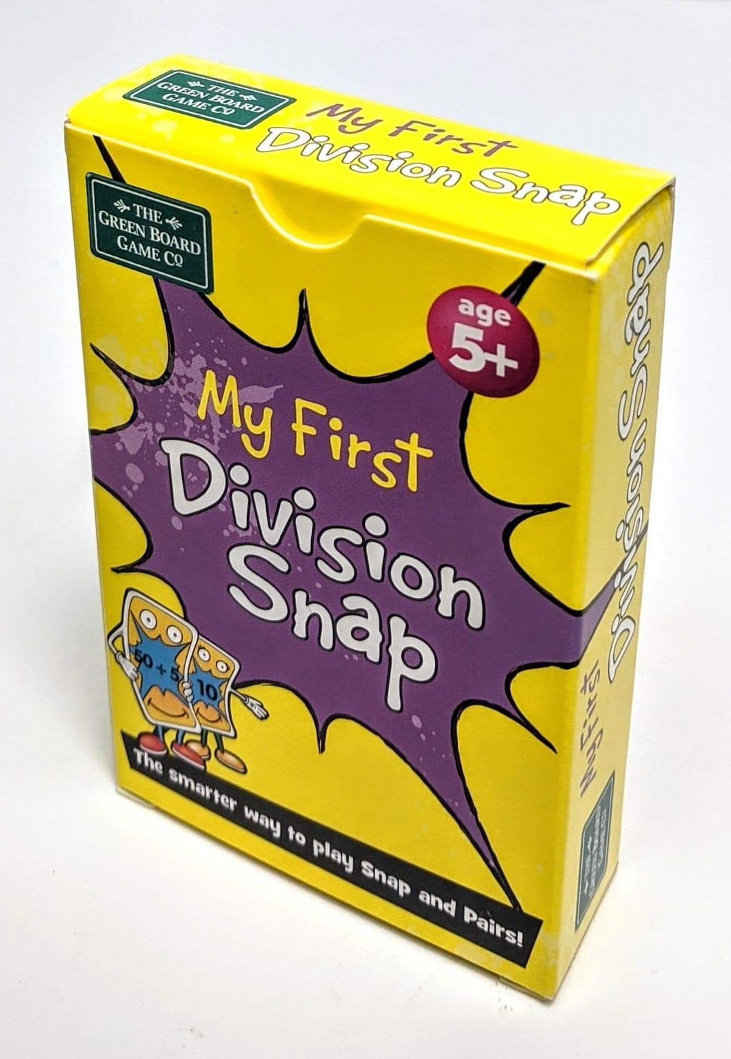 My First Division Snap Playing Cards