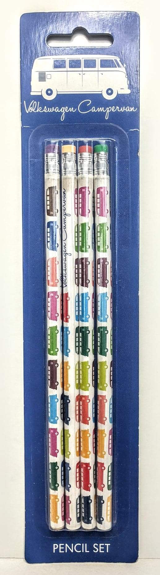 VW Campervan Pencil Set