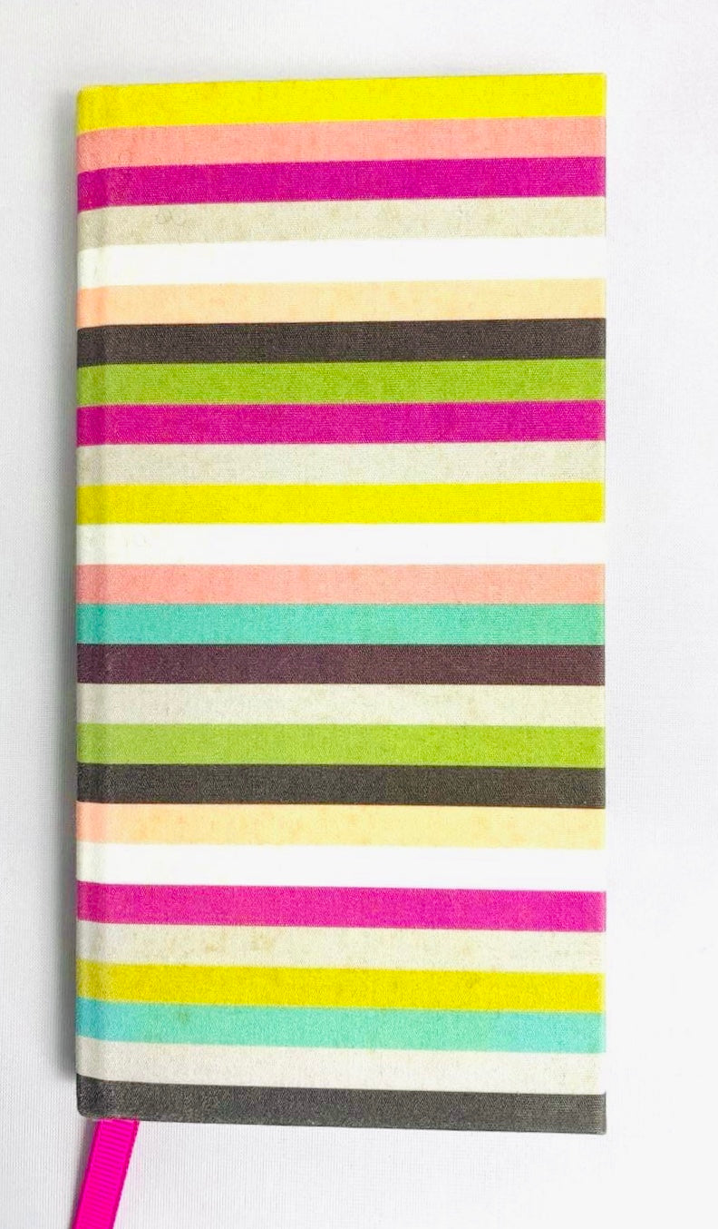 Caroline Gardner Stripy Alphabetical Address Book