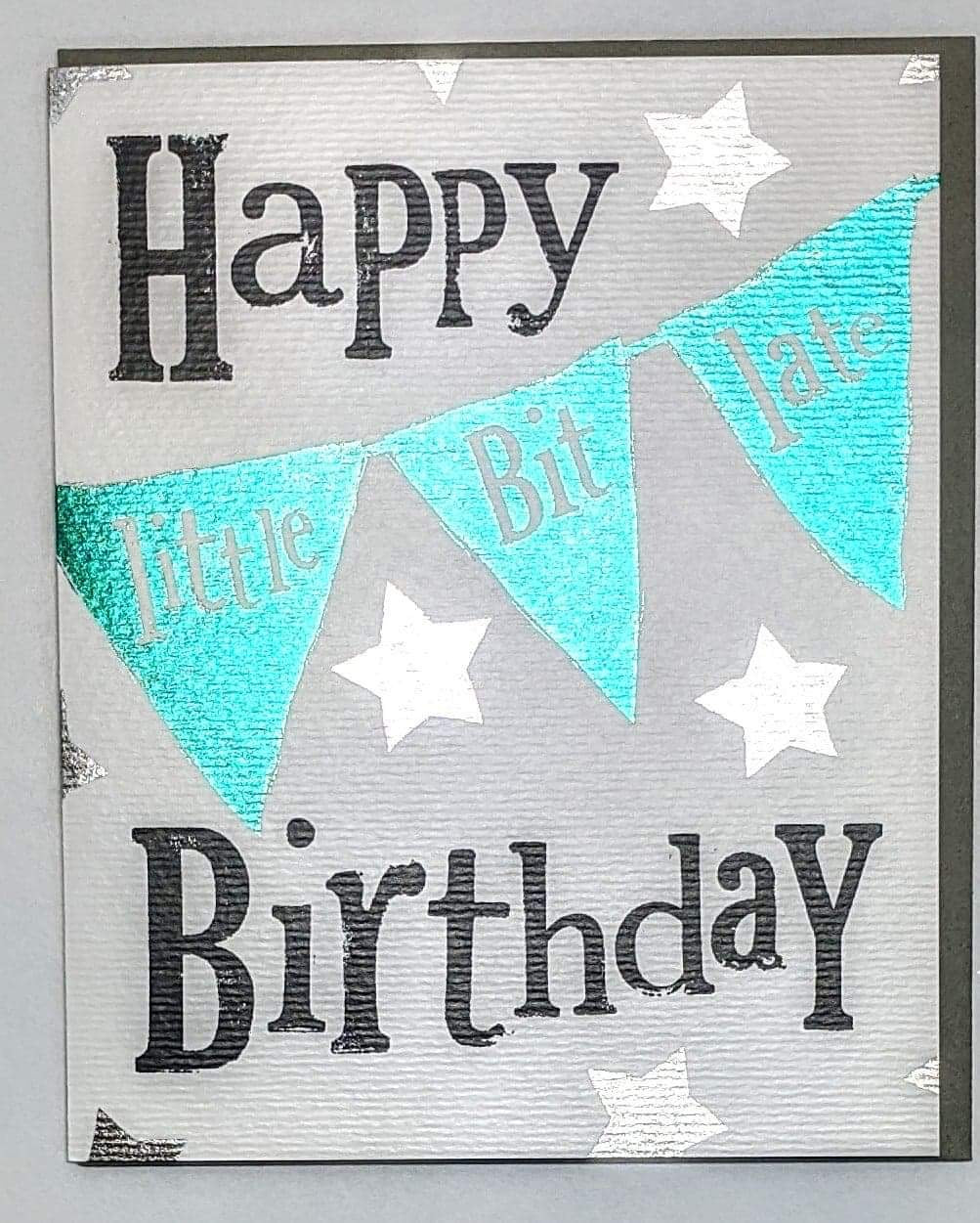 Bright Side's 'Happy Little-Bit-Late Birthday' Belated Birthday Card
