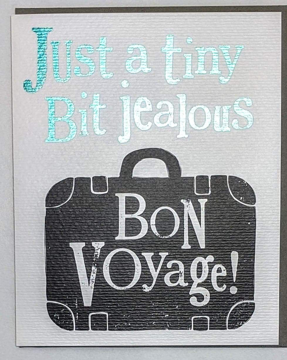 Bright Side's 'Bon Voyage' Greetings Card