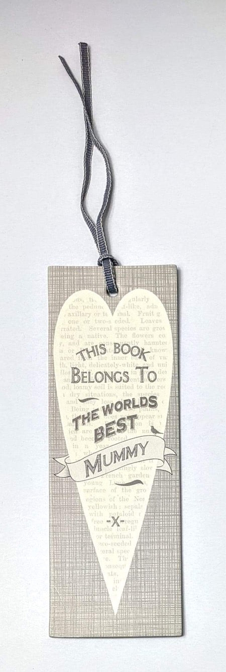 East of India 'World's Best Mummy' Bookmark