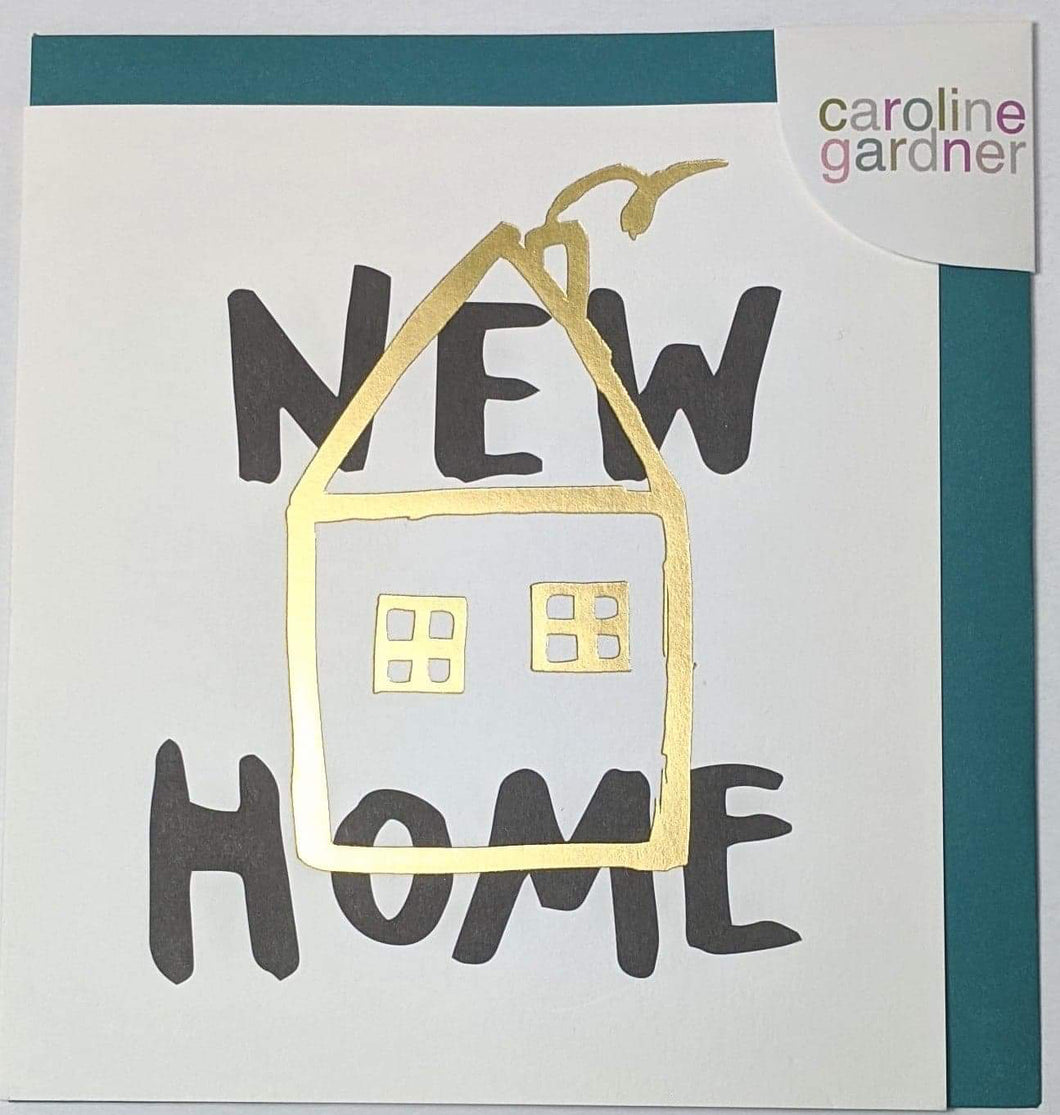 'New Home' Caroline Gardner Greetings Card