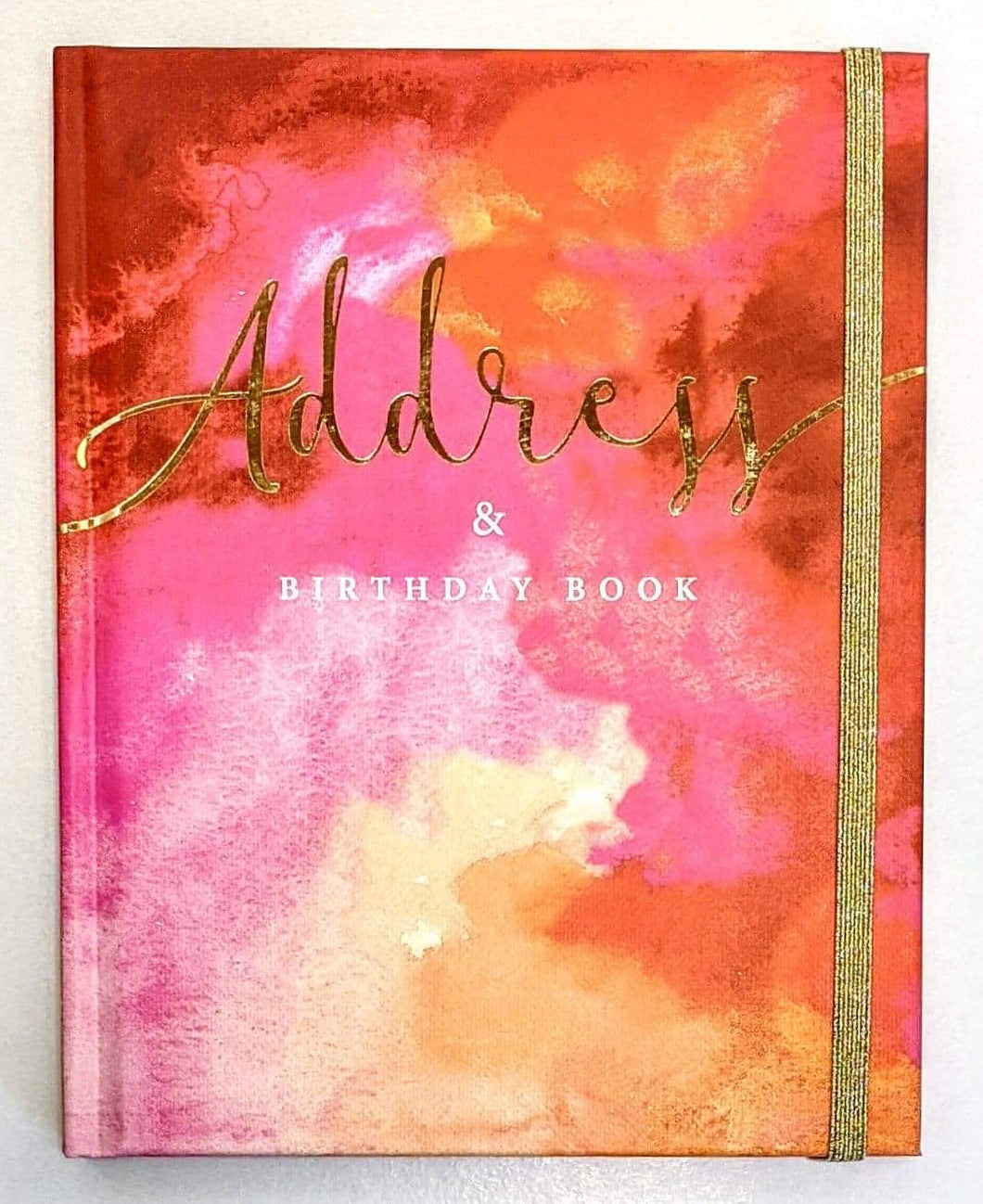 Address and Birthday Notebook