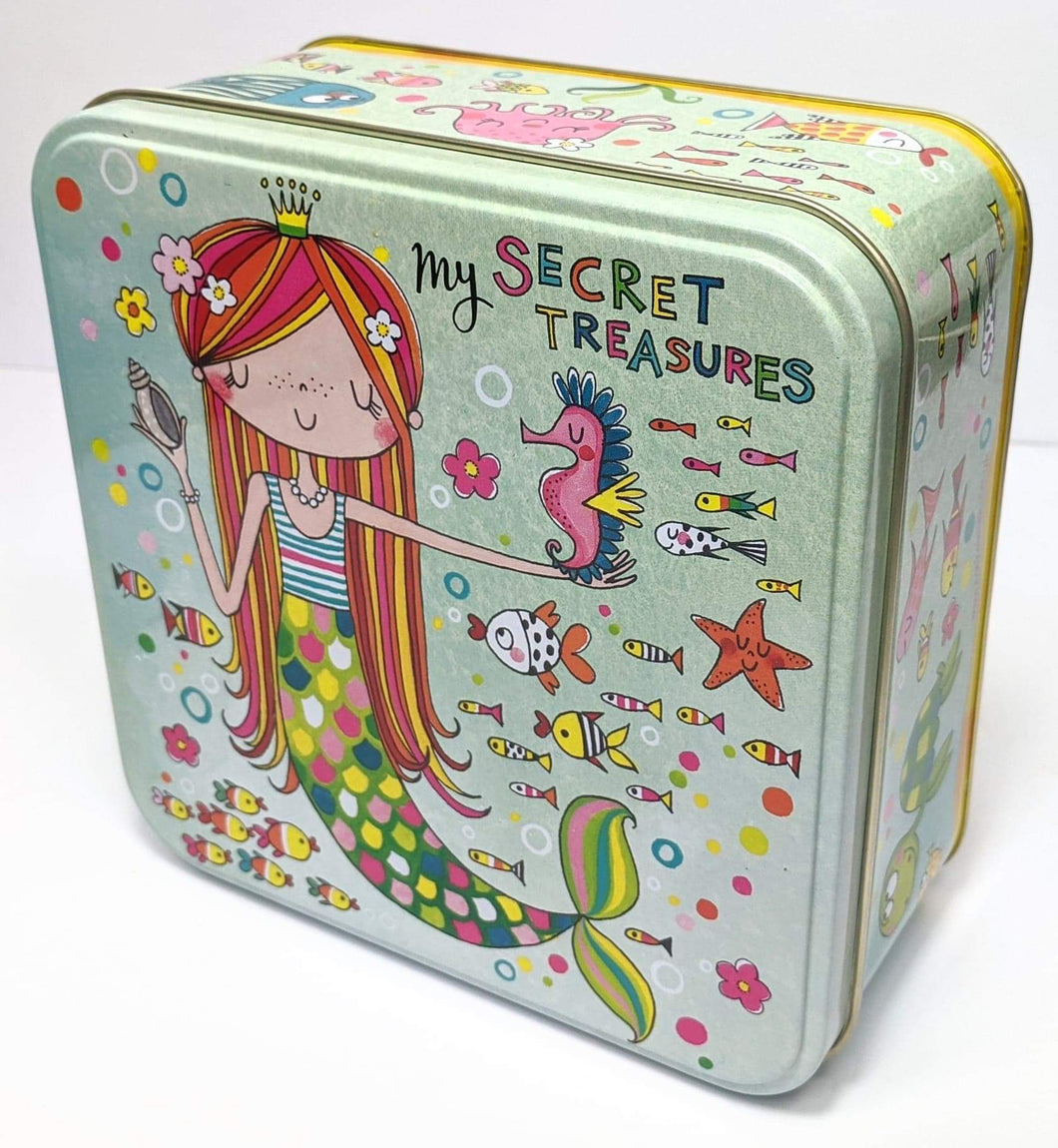 My Secret Treasures Mermaid Tin