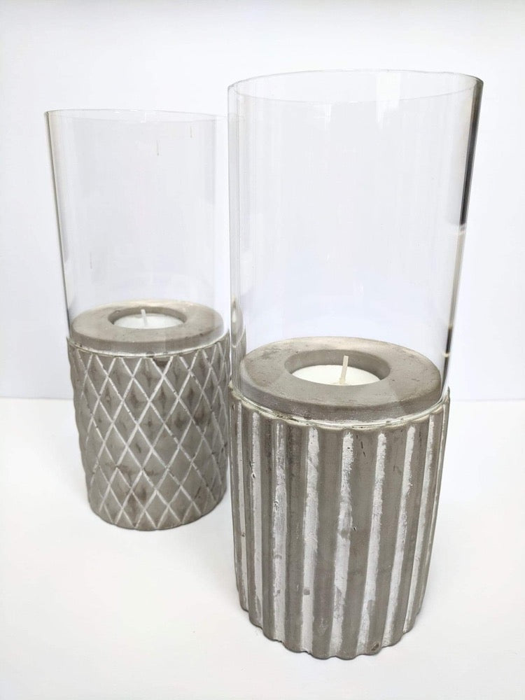 Concrete Hurricane Wind Lights -Small