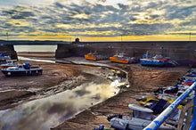 Load image into Gallery viewer, 'Waiting for the Tide, Saundersfoot Harbour'