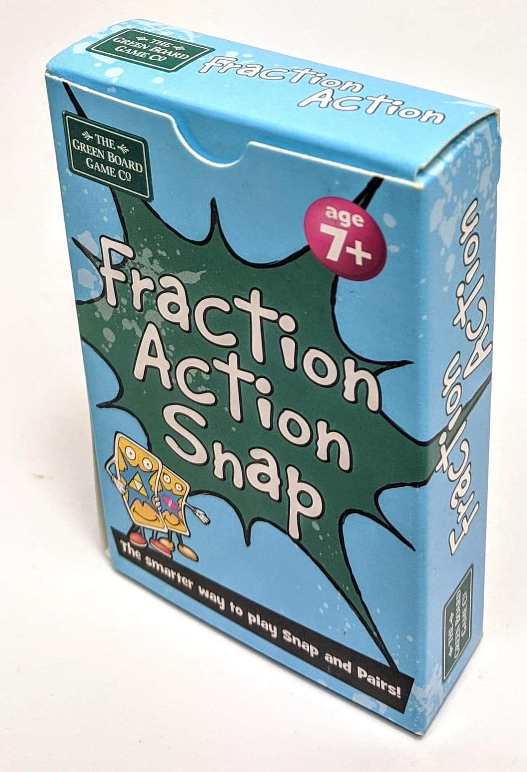 Fraction Action Snap Playing Cards