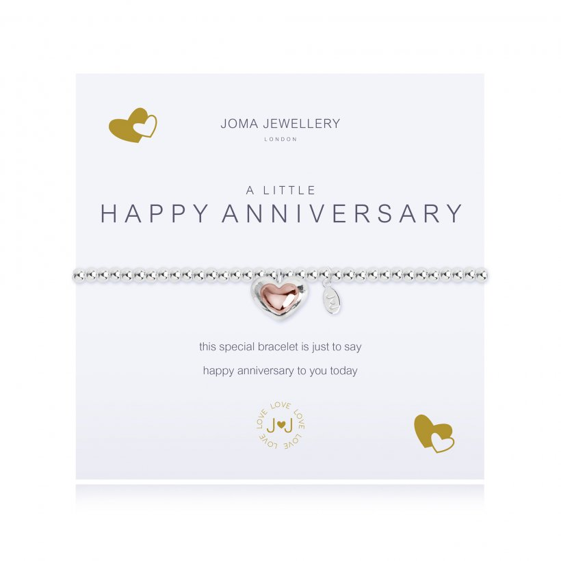 Joma Jewellery 'A Little Happy Anniversary' Bracelet