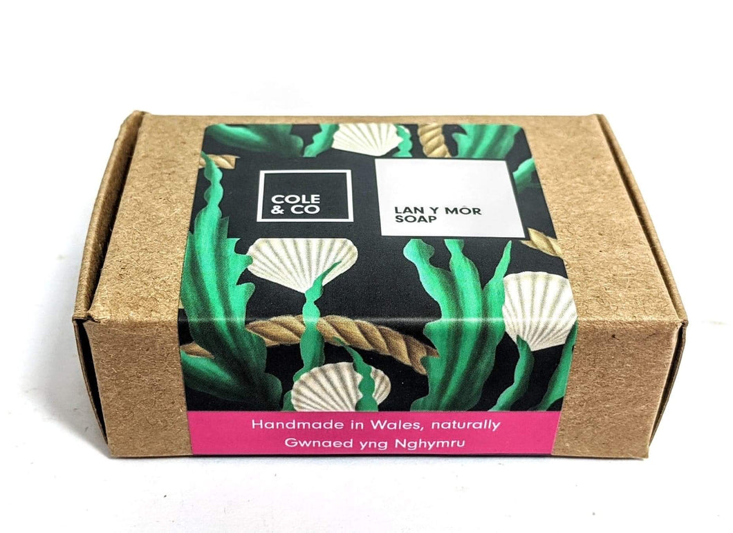 Cole & co. 'Lan y Môr' Soap in a Box