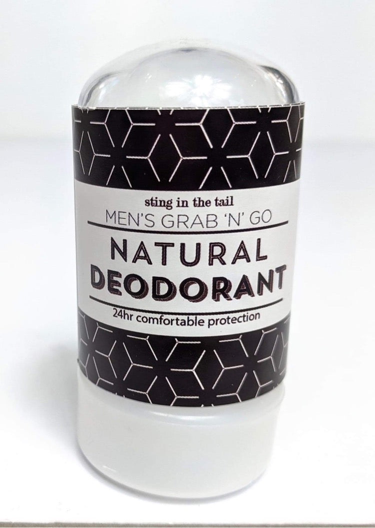 Grab 'N' Go Natural Roll-on Deodorant for Men
