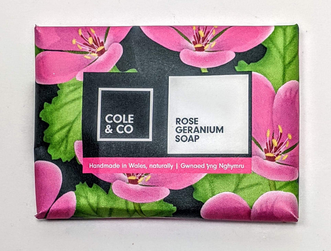 Cole & co. 'Rose Geranium' Mini Soap