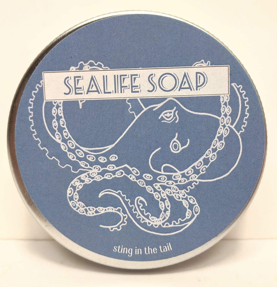 Sealife Soap in a Tin