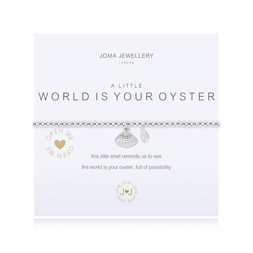 Joma Jewellery 'A Little World is Your Oyster' Bracelet