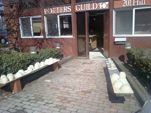 Outside View of the Ann Arbor Potters Guild