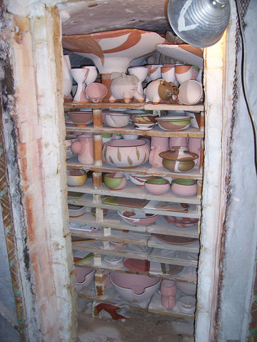 Finished Glaze Kiln at Terrestrial Forming