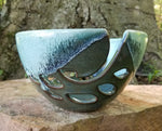 Load image into Gallery viewer, Yarn Bowl in Aqua and Blue