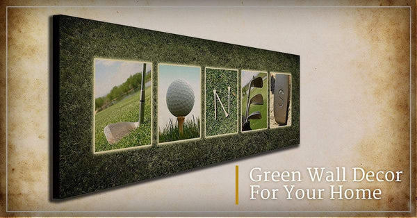 Green Wall Decor For Your Home