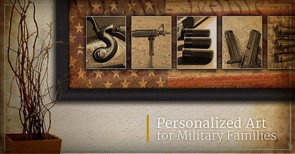 Personalized Art for Military Families