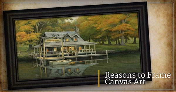 Reasons to Frame Canvas Art