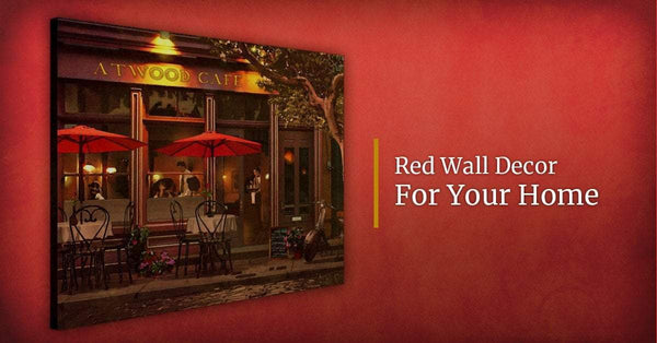 Red Wall Decor For Your Home