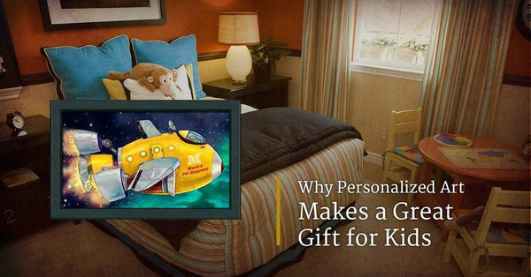 Why Personalized Art Makes a Great Gift for Kids