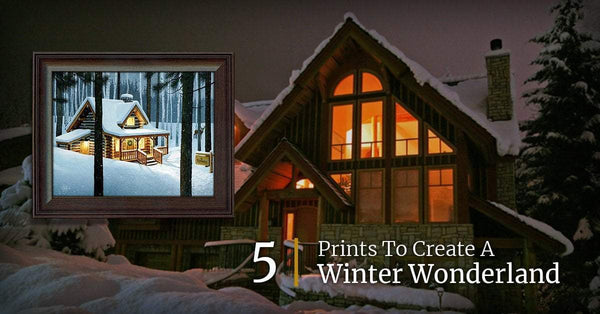 5 Prints To Create A Winter Wonderland