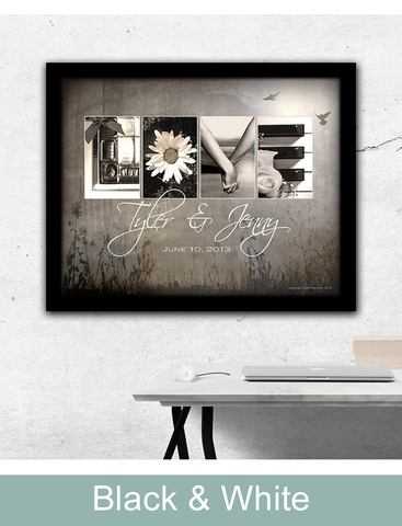 Black and White art prints from personal prints