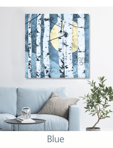 Blue Color Decor