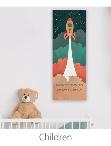 Personalized Art Decor for Kids