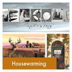 Personalized Housewarming New Home Art Gift