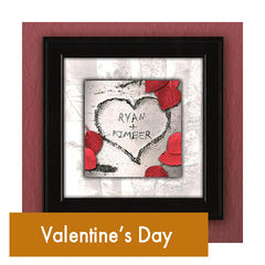 Personalized Romantic Valentine's Day Art Gifts for Couples