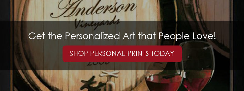 "Banner reading ""Get the Personalized Art That People Love! Shop Personal-Prints today"""