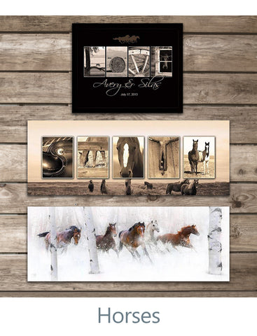 Personalized Horse Gifts & Horse Art Decor