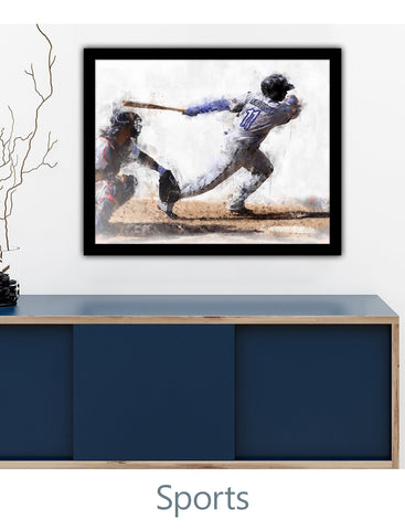 Personalized Sports Artwork