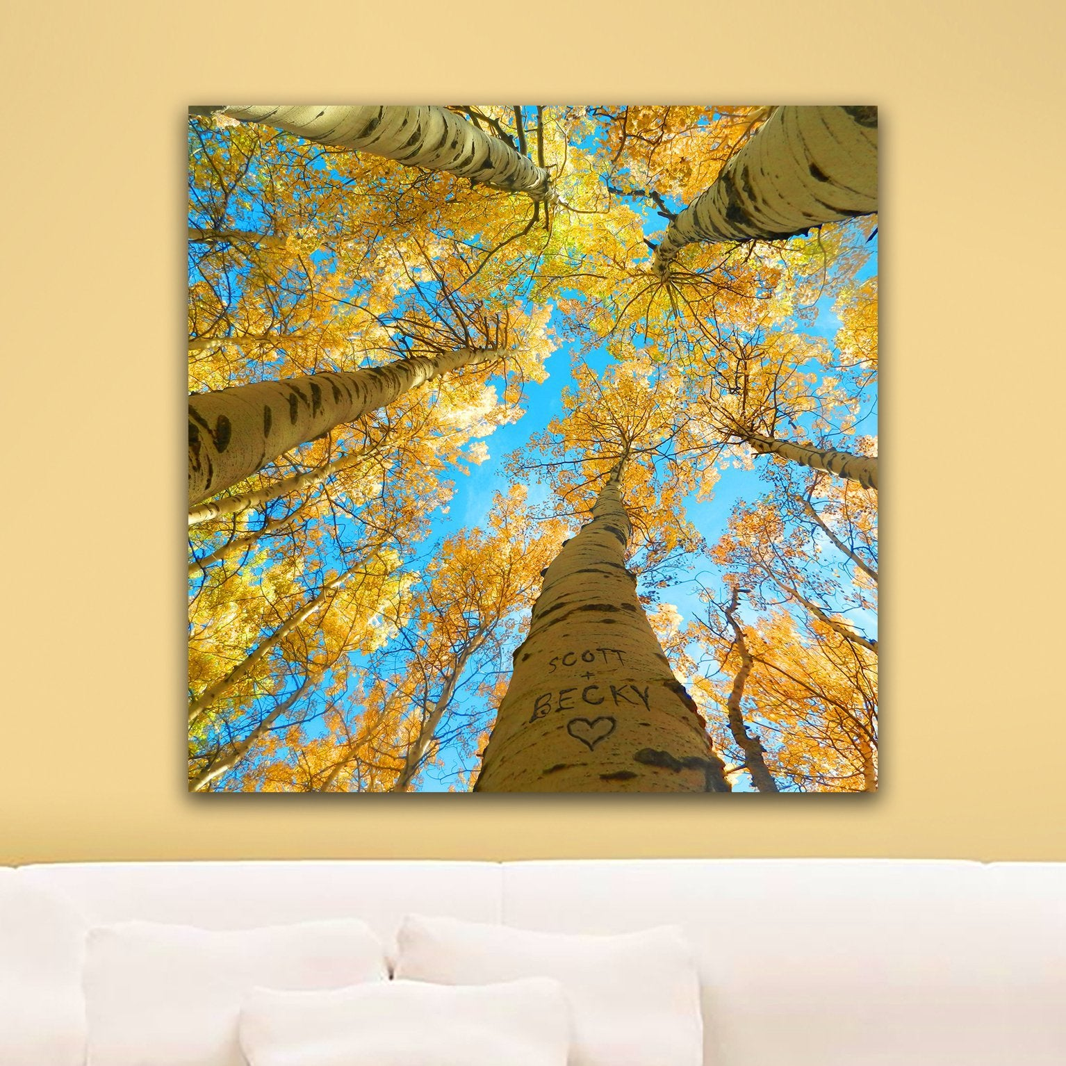 Aspen Tree Art | Nature Wall Decor | Personalized Art - Personal-Prints
