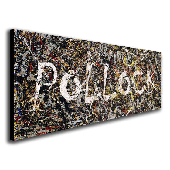 Customized Jackson Pollock Art Painting