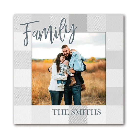 Your Family Photo Printed and Personalized- Mounted to Wood