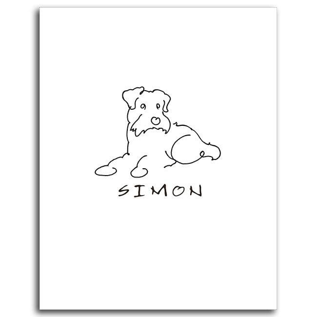 Schnauzer Drawing Easy: Show Your Love For Your Schnauzer