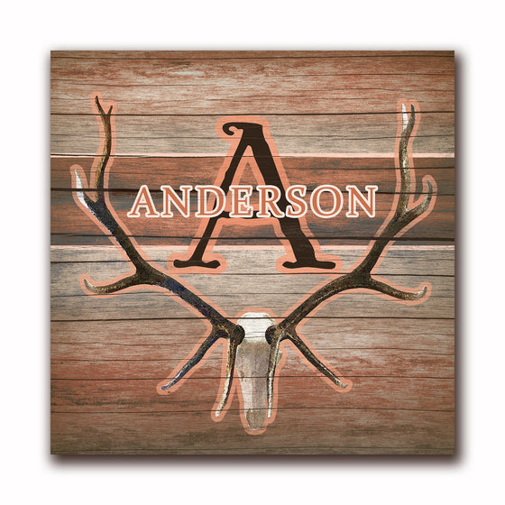 Elk Skull Decor - Personalized Gift