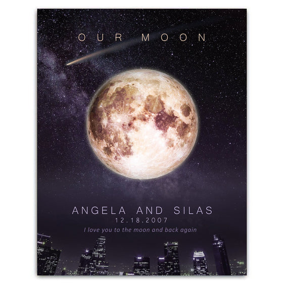 Our Moon - Personalized Gift