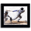 framed sports art - baseball personalized gift from Personal-Prints