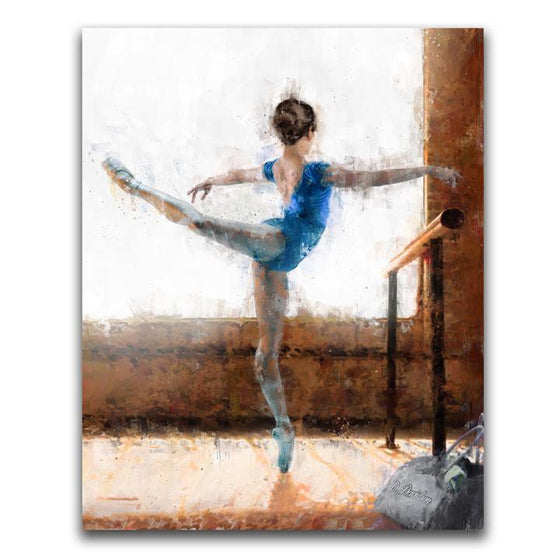 Ballet Dancer Personalized Gift from Personal Prints