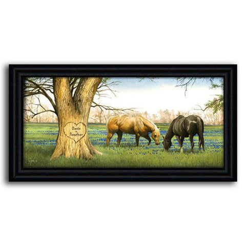 Bluebonnet Spring - Framed Canvas