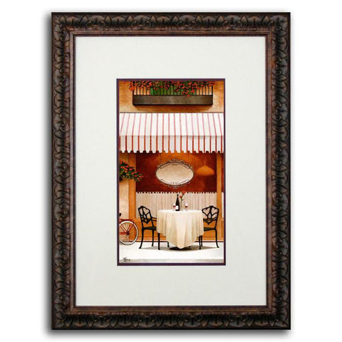 Cafe - Original Personalized Painting