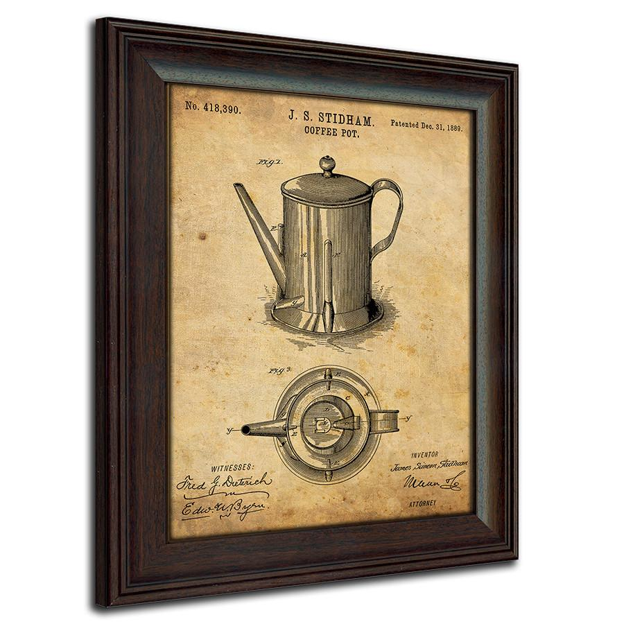 Retro Kitchen Wall Decor: Vintage Framed Art - Personal-Prints