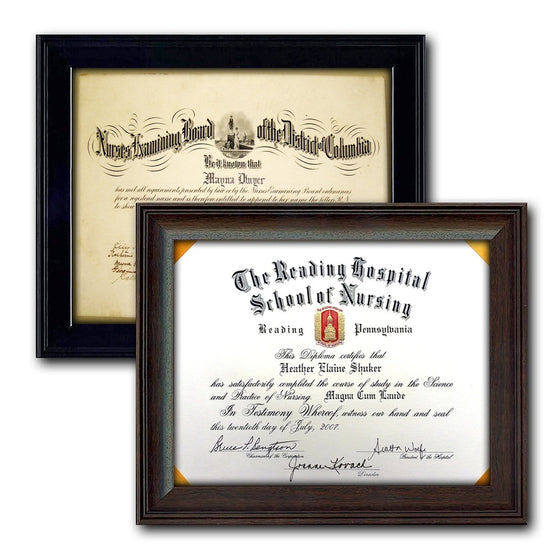 11x14 diploma certificate frames