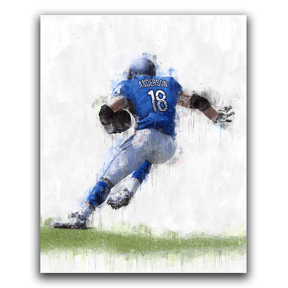 Personalized Football Sports Art from Personal-Prints